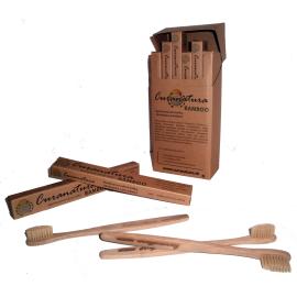 Bambusový zubní kartáček Bamboo Curanatura