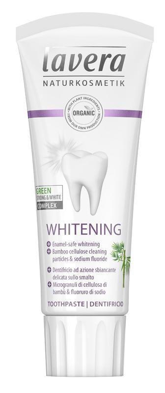 Bělící zubní pasta Lavera 75 ml