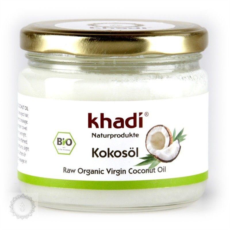 Khadi panenský kokosový olej BIO 270 ml