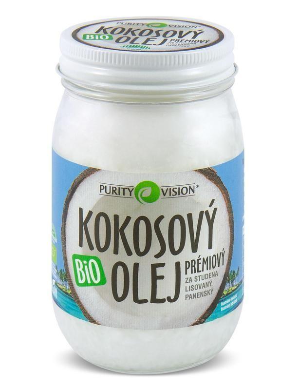 Purity Vision Kokosový olej panenský BIO 420 ml