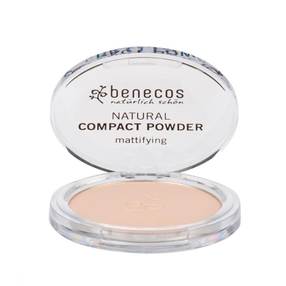 Benecos kompaktní pudr Bio Veg porcelain 9 g
