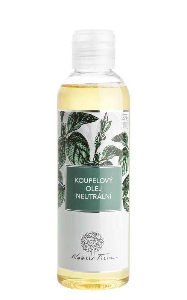 Nobilis Tilia Koupelový olej neutrální 200 ml