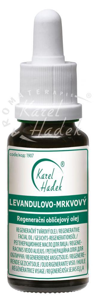 Levandulovo mrkvový olej 30 ml Hadek