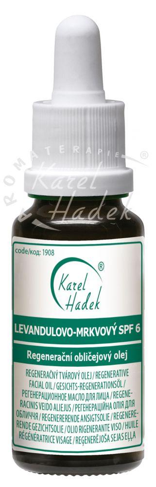 Levandulovo mrkvový olej SPF6 30ml Hadek