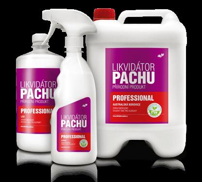 Likvidátor pachu ALP - Professional - Citron Objem: 500 ml N