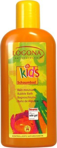Koupel jemná Broskvový kvítek KIDS Logona 500ml