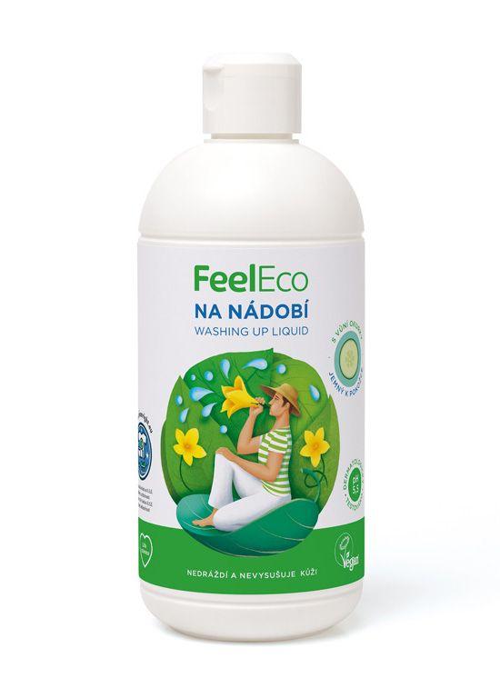 Feel eco na nádobí s vůní okurky 500ml