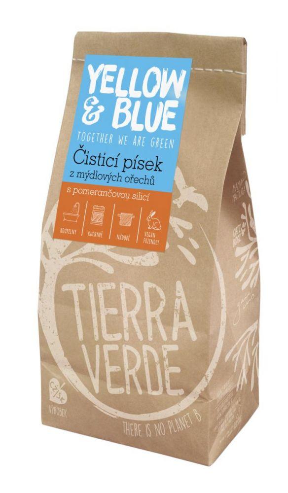 Yellow & Blue Pískový čistič sáček 1kg