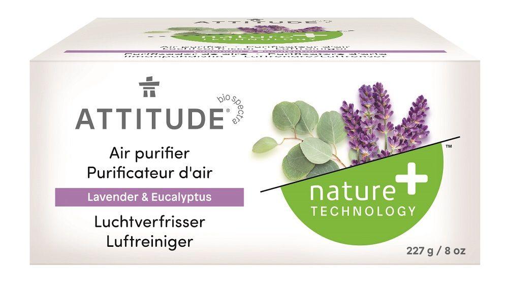 Přírodní čistící osvěžovač vzduchu s vůní levandule a eukalyptu Attitude 227 g