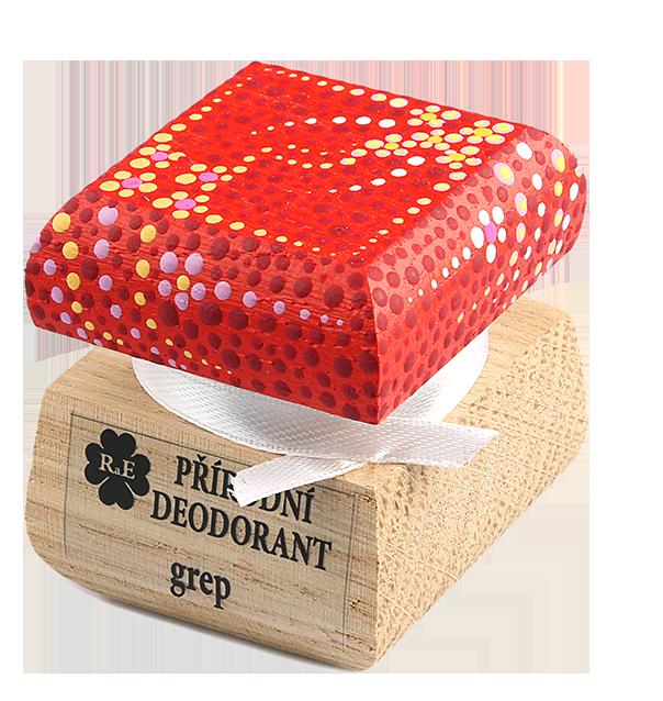 RaE Přírodní krémový deodorant Grep 15 ml