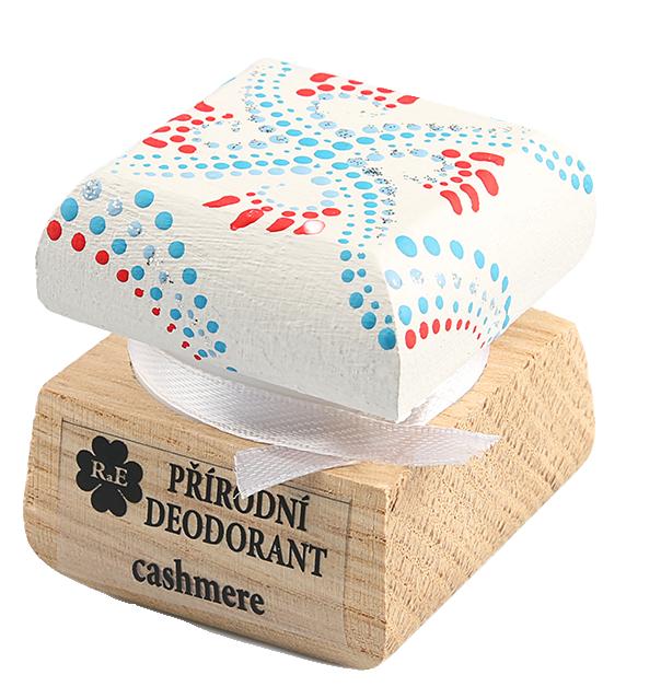 RaE Přírodní krémový deodorant Kašmír 15 ml