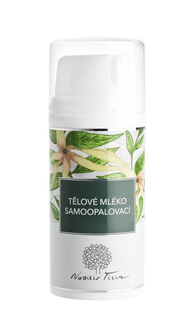 Nobilis Tilia Samoopalovací pleťové mléko 100 ml
