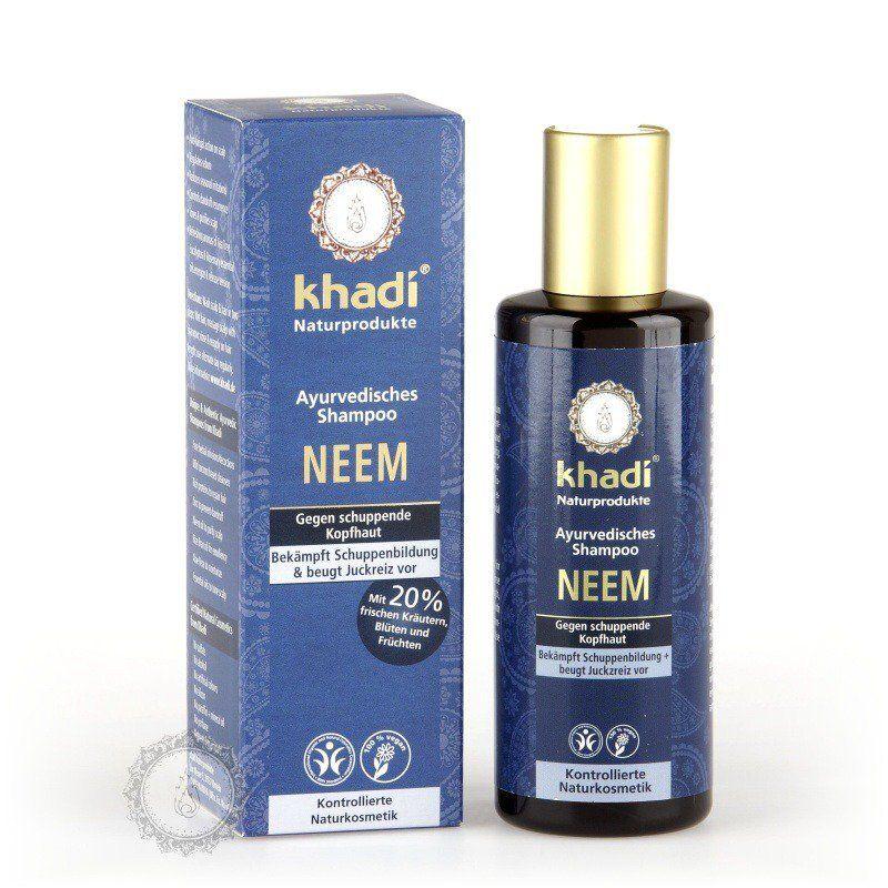 Khadi šampón NEEM proti lupům 210ml