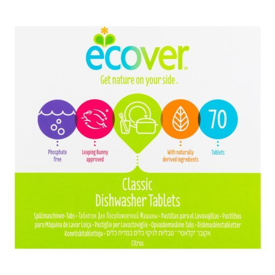 ECOVER Tablety do myčky XL balení 1,4 kg