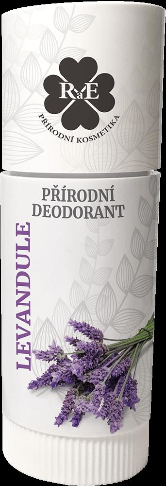 Přírodní deodorant Levandule RaE 25ml