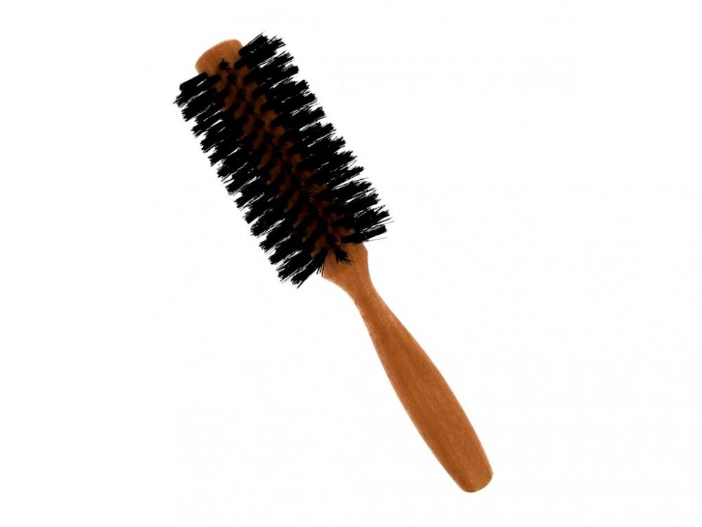 Förster´s vlasový kartáč z hruškového dřeva s kančími štětinami půlkulatý, prům. 5 cm