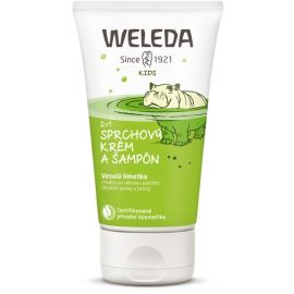 2 v 1 sprchový krém a šampon Veselá limetka Weleda 150 ml