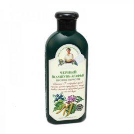 Černý šampon proti lupům Agáta  350ml