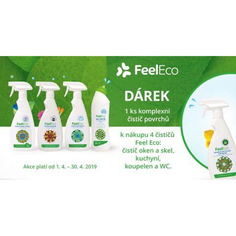 Akce - Sada čističů do domácnosti Feel eco 5 ks