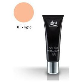 Coleur Tekutý make-up č.1 Light Alva 30ml