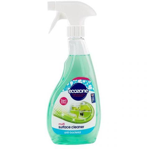 Antibakteriální úklidový sprej 3v1 Ecozone 500ml