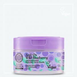 Antioxidační peelingové pleťové tamponky Wild Blueberry Siberica 20 ks