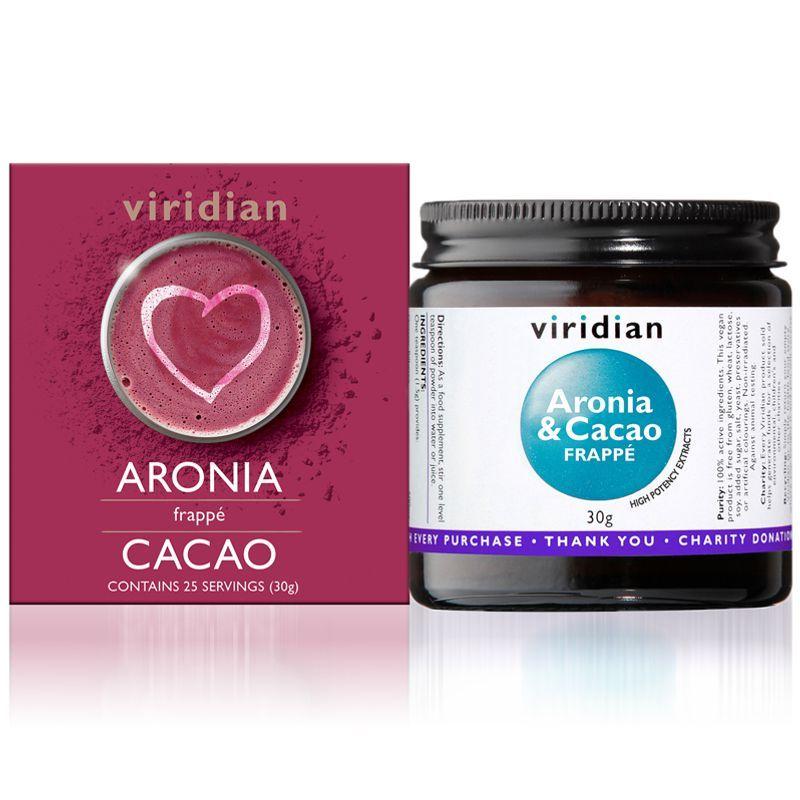 Viridian Aronia & Cacao Frappé (Frappé z Arónie a Kakaa) 30g