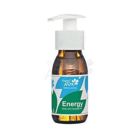 Tělový a masážní olej Energy Atok 50 ml