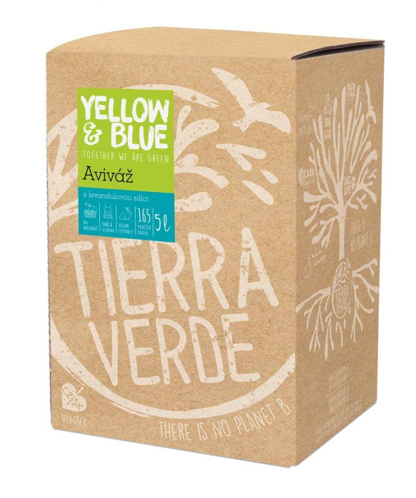 Yellow & Blue Aviváž z mýdlových ořechů levandule 5L