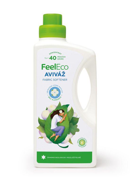 Feel eco aviváž s vůní přírodní bavlny 1L