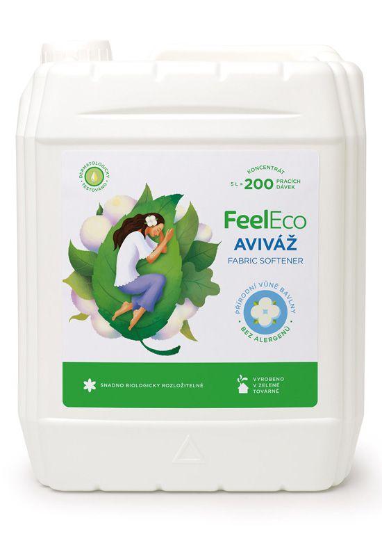 Feel eco aviváž s vůní přírodní bavlny 5L