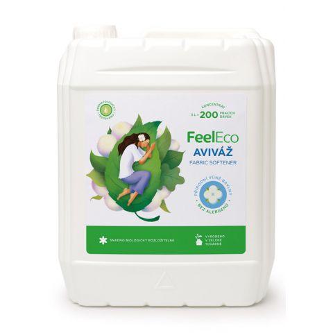 Aviváž s vůní přírodní bavlny Feel eco 5L