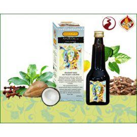 Oil 25 Neelayadi - vlasy, pokožky hlavy, šedivění, lupy, bolesti hlavy Siddhalepa Ayur   220 ml