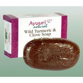Mýdlo s kurkumou a hřebíčkem  Ayuuri 100g