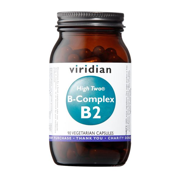 Viridian B-Complex B2 High Two® 90 kapslí