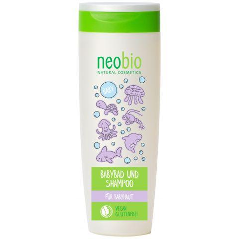 BABY Koupel a Šampon Bio Aloe & Bio Měsíček Neobio 250ml