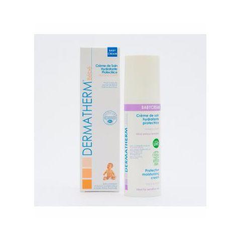 Bio ochranný hydratační krém pro děti na obličej a tělo pro citlivou pokožku Babycream Dermatherm 150ml