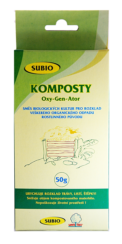 SuBio Oxy-Gen-Ator Bakterie na Komposty 50 g