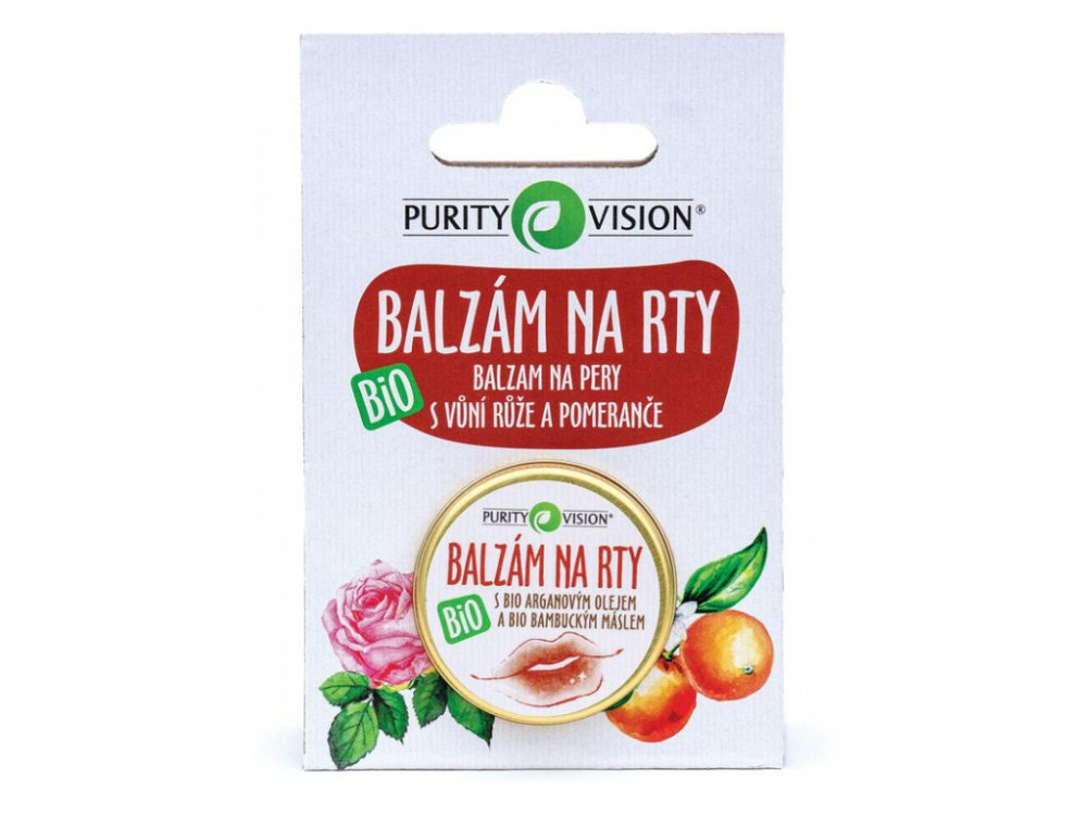 Purity Vision Balzám na rty Bio 12 ml