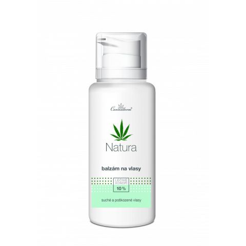 Balzám na suché vlasy NATURA Cannaderm  200 ml