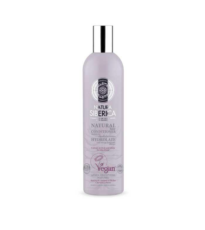 Natura Siberica Balzám pro barvené vlasy - Oživení barvy a lesk 400 ml
