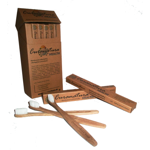 Bambusový zubní kartáček Health soft Curanatura