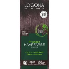 Barva Černá rostlinná intenzivní na vlasy  LOGONA  100g