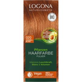 Barva na vlasy Henna Karamelová blond( Sahara) Logona 100g