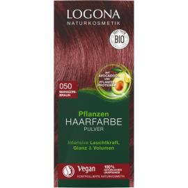 Barva na vlasy Henna Mahagon Logona 100g