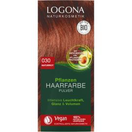 Barva na vlasy Henna přírodní červená Logona 100g