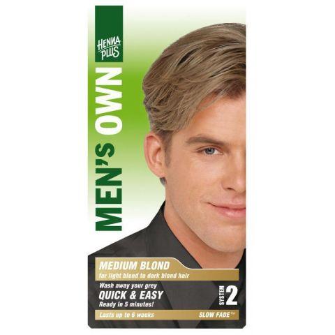 Barva pro muže Střední blond HennaPlus 80 ml