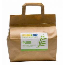Bělící prášek Puer a odstraňovač skvrn na bázi kyslíku Yellow & Blue (pap.pytlík 3 kg)