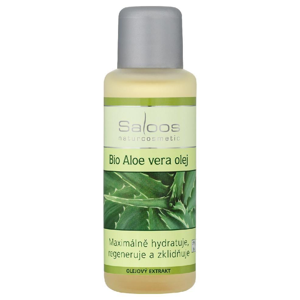 Bio Aloe Vera olej - olejový extrakt Saloos 50ml