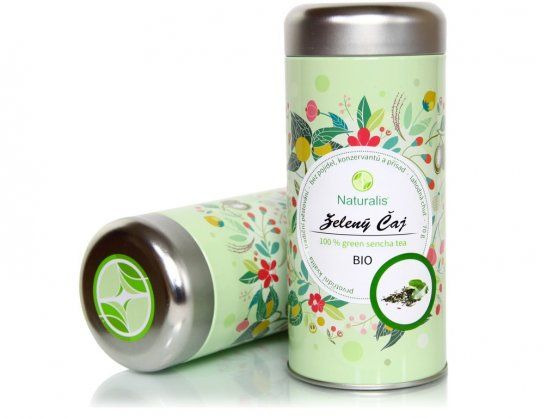 Bio čaj zelený Naturalis 70 g